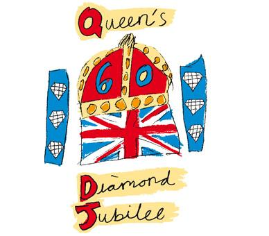 Western Telegraph: The Official Logo for The Queen's Diamond Jubilee