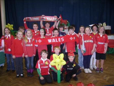 St David's Day 2012 - Puncheston School