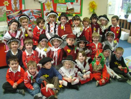 St David's Day 2012 Roch CP