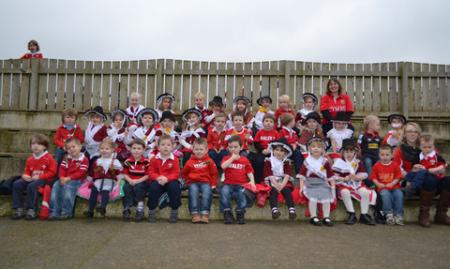 St Davids Day 2012 Johnston School