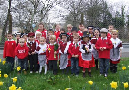 Extra St David's Day Pictures 2012 Golden Grove school