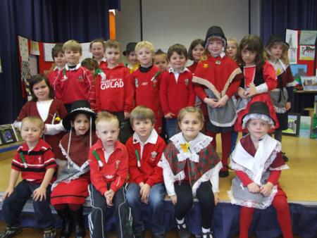 Extra St David's Day Pictures 2012 Stackpole School