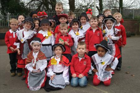 St David's Day 2012 Fenton School