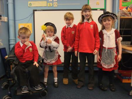 St David's Day 2012 Portfield School