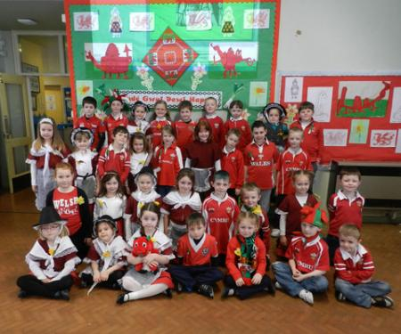 St David's Day 2012 Hakin Junior School