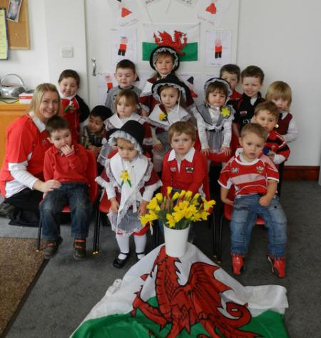 St David's Day 2012 Pinocchio Playgroup