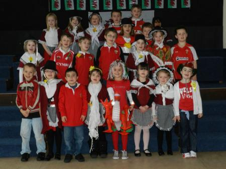 St David's Day 2012 Meads School