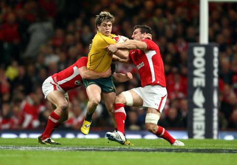 OUT OF ACTION: Talented Wallaby back James O'Connor