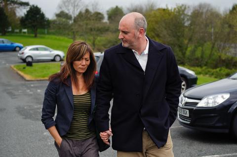 Anna Ryder –Richardson and husband Colin MacDougall pleaded not guilty to health and safety offences.  Pic Athena picture agency