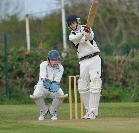 Nick Koomen scored runs and took a wicket for Neyland.	Picture: Ian Miller