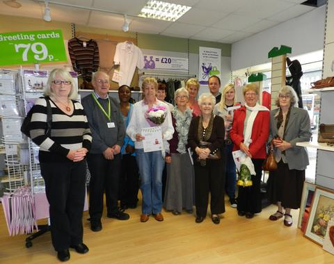 DEDICATED: Milford Haven Barnardo's volunteers Vera Jones, David Lane, Alison Gibbons, Margaret Phillips, Jackie Smith, Linda Fowler, Chris Morris, Valerie Clark, Rob Adams, India Morley, Esme McClarem and Ivy Nutbeam.