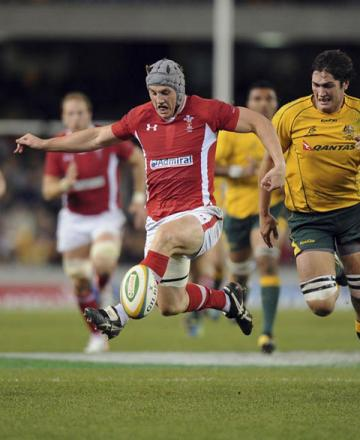 HUGE INCENTIVE: Wales will look to established players like Jonathan Davies for inspiration as they chase a much needed consolation win over Australia in the third and final Test