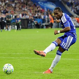 Didier Drogba scored the winning penalty in the Champions League final - his last Chelsea appearance