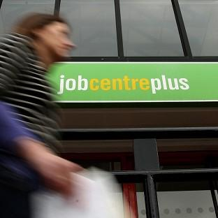 Unemployment figures fell in the three months to April, although jobseeker's allowance claimant numbers were up