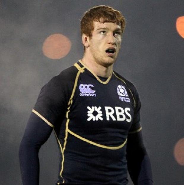 Rob Harley was named on the bench for Scotland's clash with Samoa this weekend