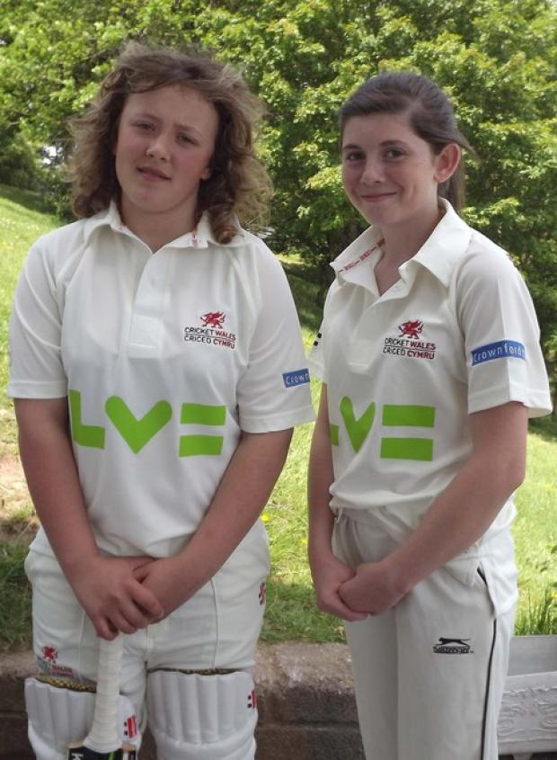 Lleucu George and Chloe Field played for Wales.