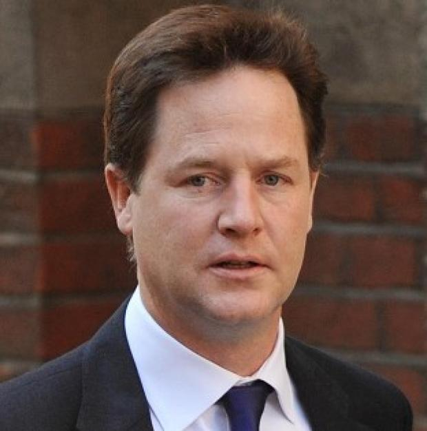 Western Telegraph: Nick Clegg says 'love is the same, straight or gay, so the civil institution should be the same too'