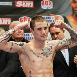 Ricky Burns (pictured) will defend his WBO title against Kevin Mitchell