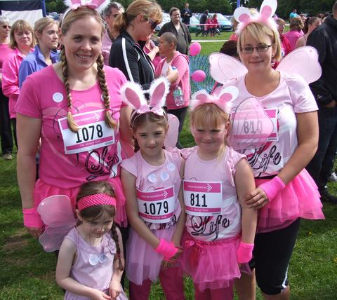 Race for Life 2012 - picture gallery
