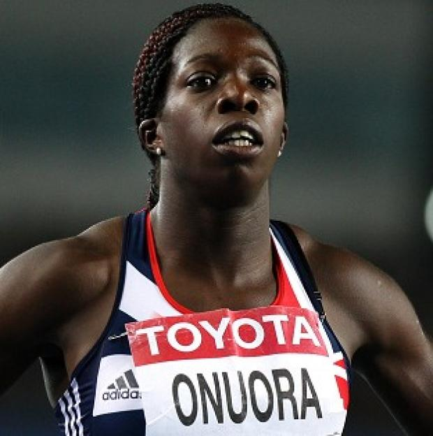 The GB women's 4x100 metres relay team were disqualified for a lane infringement