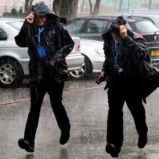 Britain suffered the wettest June since 1860, figures showed