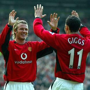 David Beckham (left) and Ryan Giggs