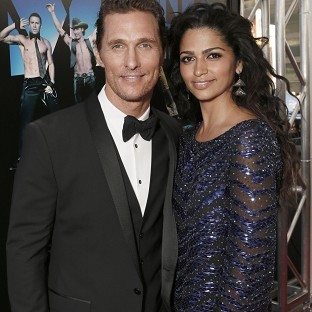 Matthew McConaughey is expecting his third child with wife Camila