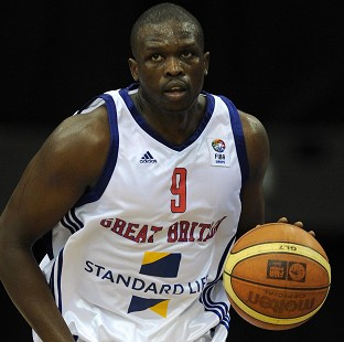 Luol Deng has been named in the 12-man GB basketball squad