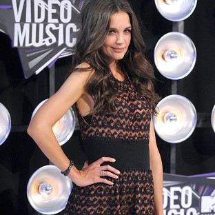 Katie Holmes has said she is doing OK after her marriage split