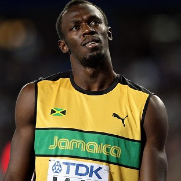 Sprint star Usain Bolt has suffered a 'slight' setback