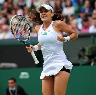 Agnieszka Radwanska is through to the Wimbledon final