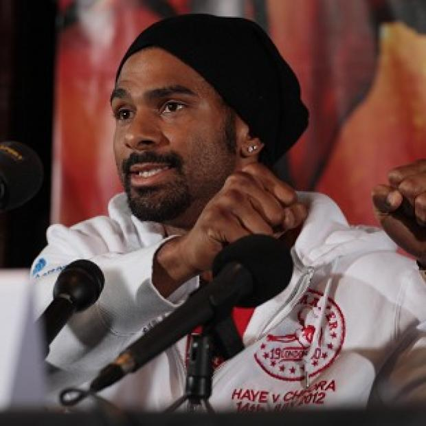 David Haye (pictured) does not believe his fight with Dereck Chisora will go down in history