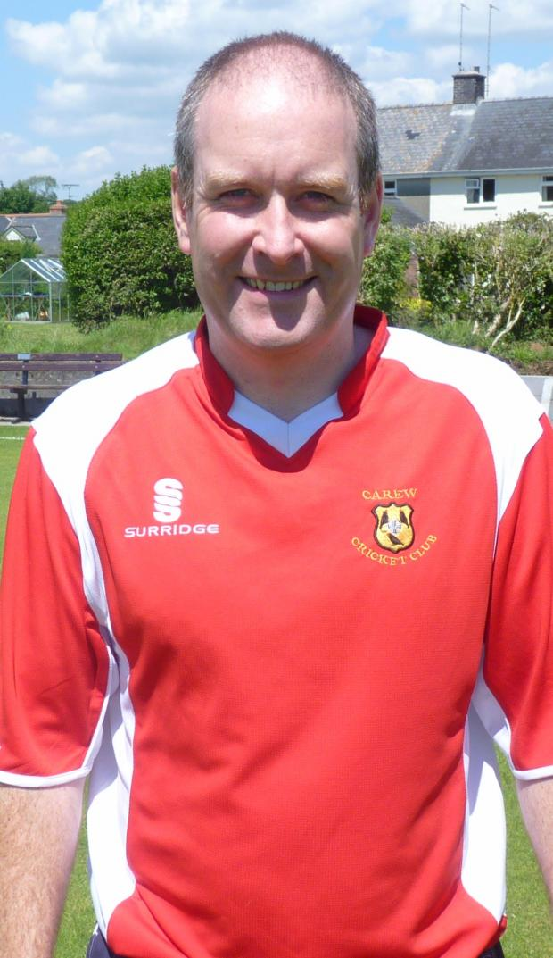 Nick Scourfield scored 60 runs in Carew's semi-final victory over Haverfordwest