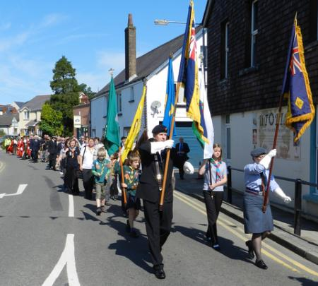 Narberth Civic Parade on Sunday July 22nd, 2012.