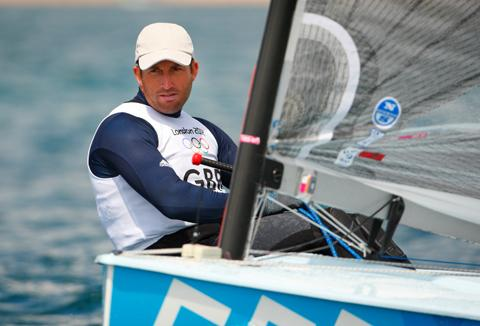 Western Telegraph: TOUGH DAY TWO: Ben Ainslie