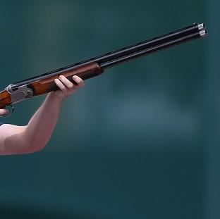 American shooter Vincent Hancock has won gold in the men's skeet