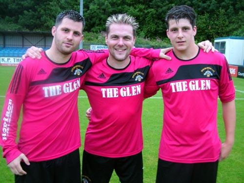 Stephen McNabney, Matthew Price and Bradley Barrett grabbed the goals for triumphant Merlins Bridge that sunk stunned Hakin United.