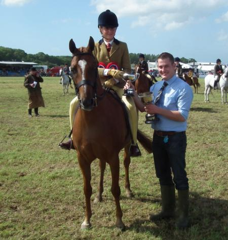 The livstock sections are always a hit with visitors at the 2012 Pembrokeshire County Show