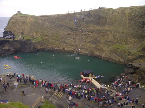 Cliff diving world series comes to Pembrokeshire