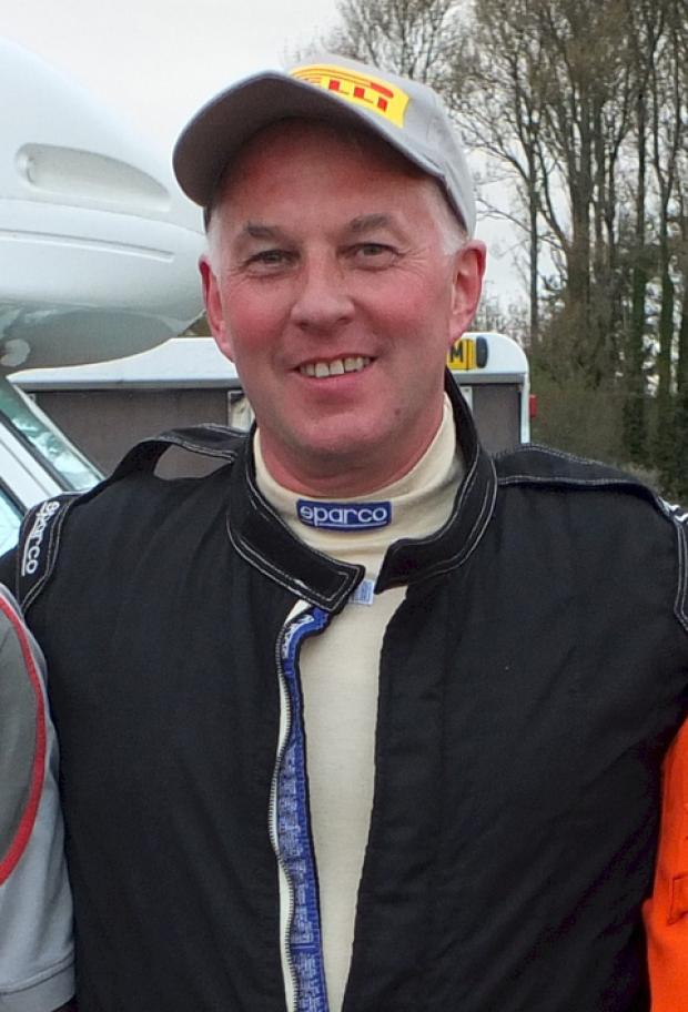 Welsh sports and saloon car champion Martin Davies.