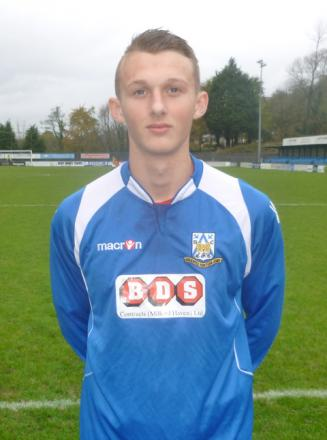 Ben Steele scored for Haverfordwest County Youth.