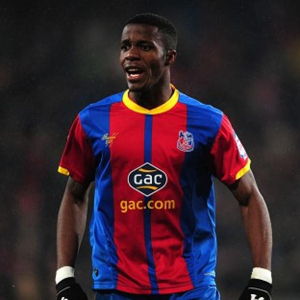 Wilfried Zaha is set for a move to Manchester United