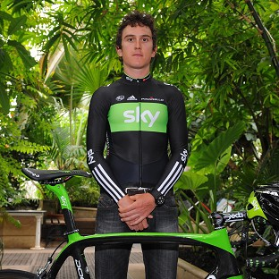 Geraint Thomas is still leading the Tour Down Under