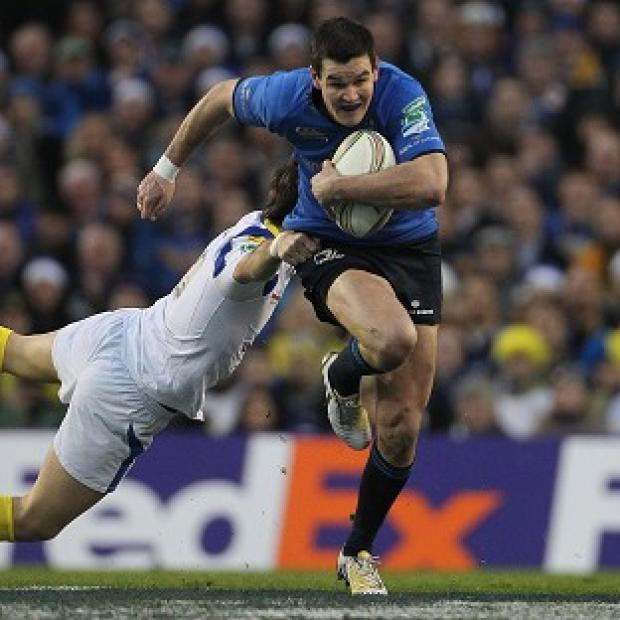 Western Telegraph: Jonathan Sexton, right, helped Leinster win three European titles in four seasons