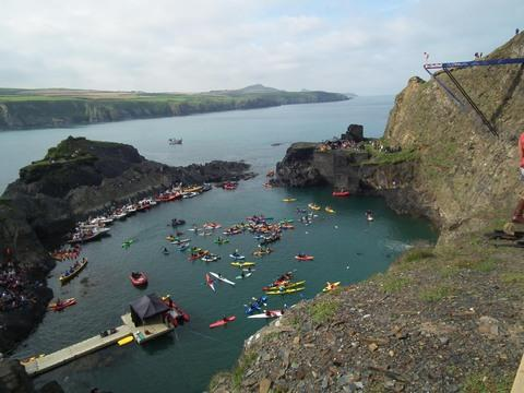 Red Bull Cliff Diving World Series to return to Pembrokeshire in September