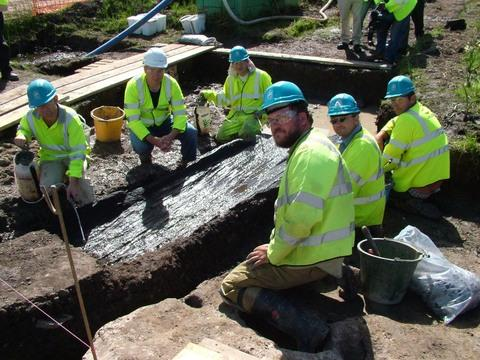 Bronze Age treasure returns to Milford Haven