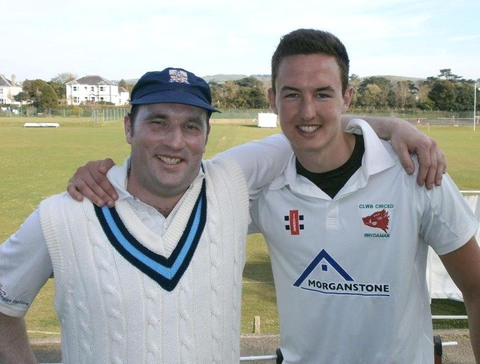 Simon Holliday and Jack Murphy helped the MCC to victory over Aberystwyth University.