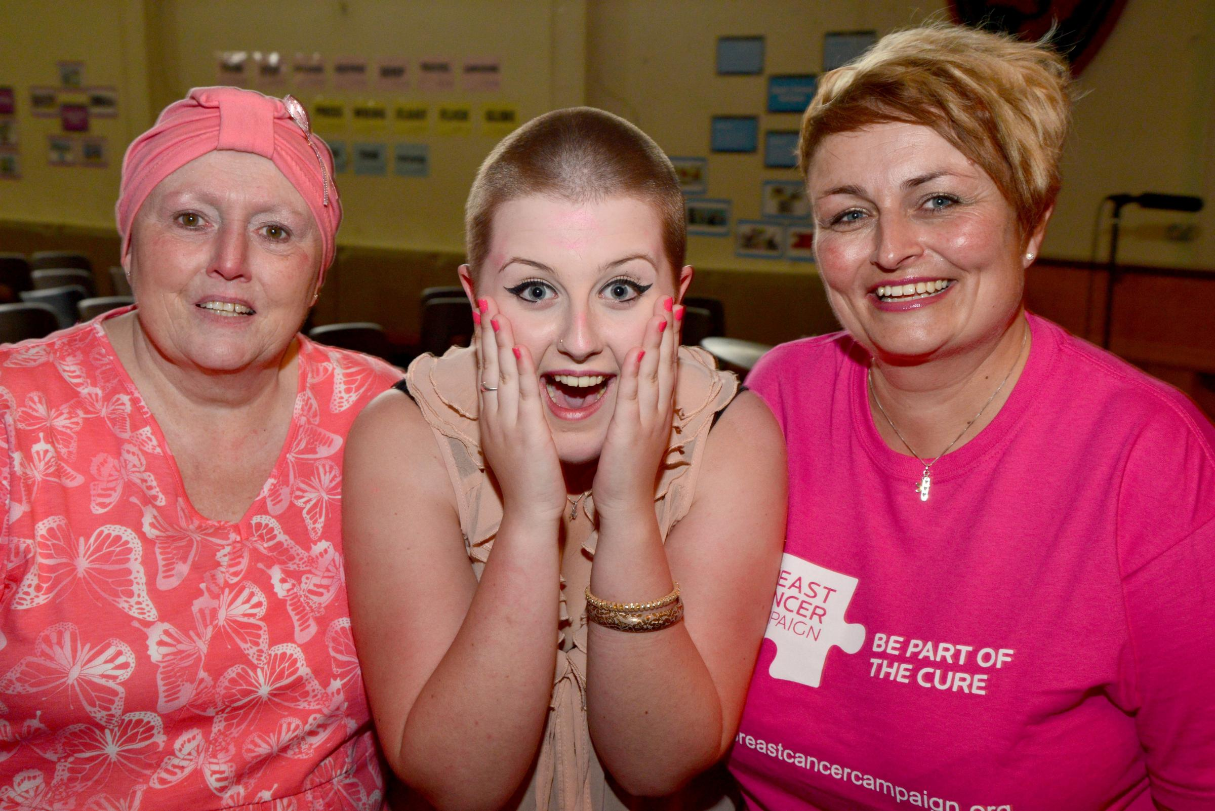 Taskers pupils prove they're tough enough to wear pink