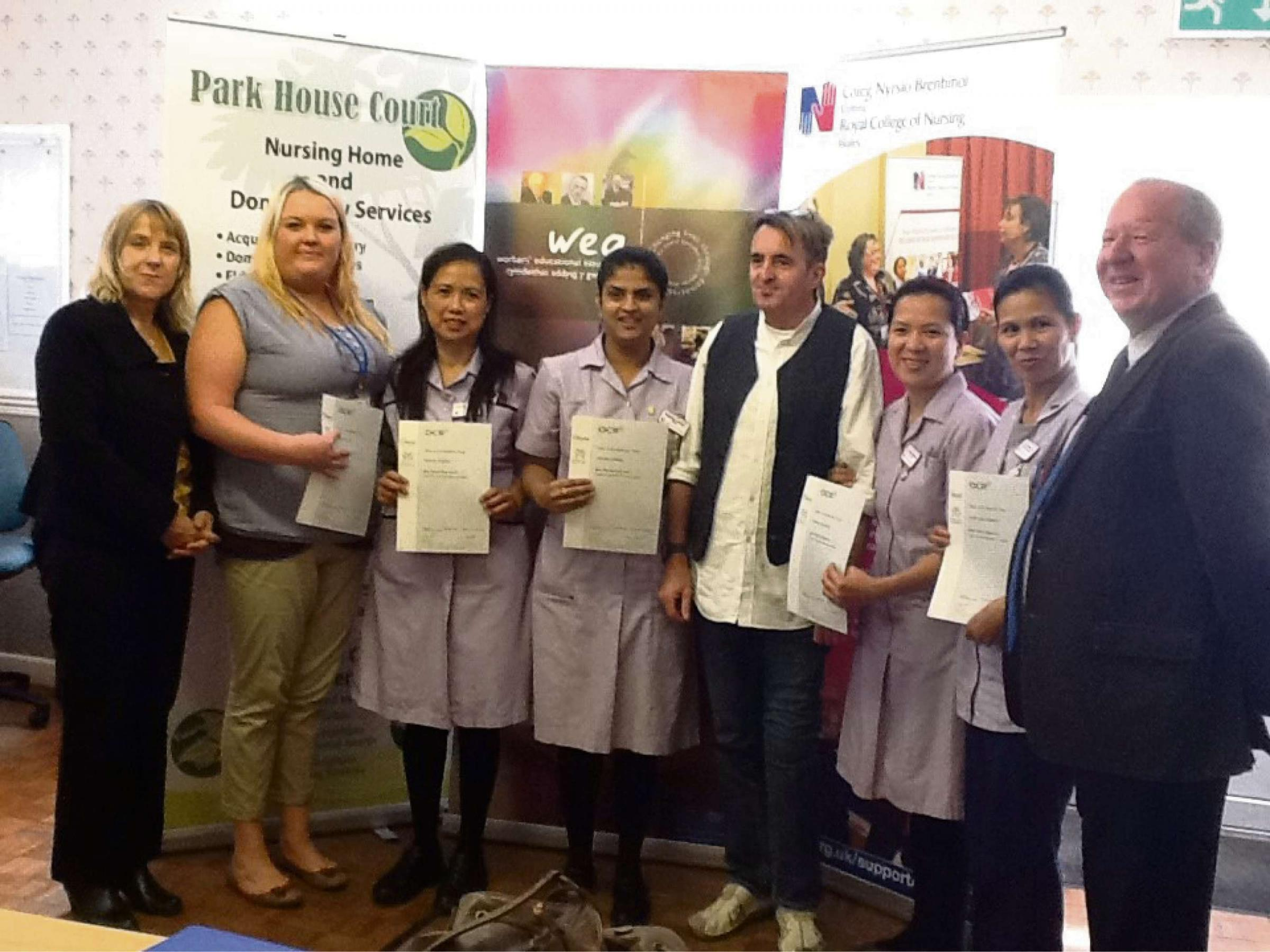 Qualifications Boost For Park House Court Nursing Home Staff From Western Telegraph
