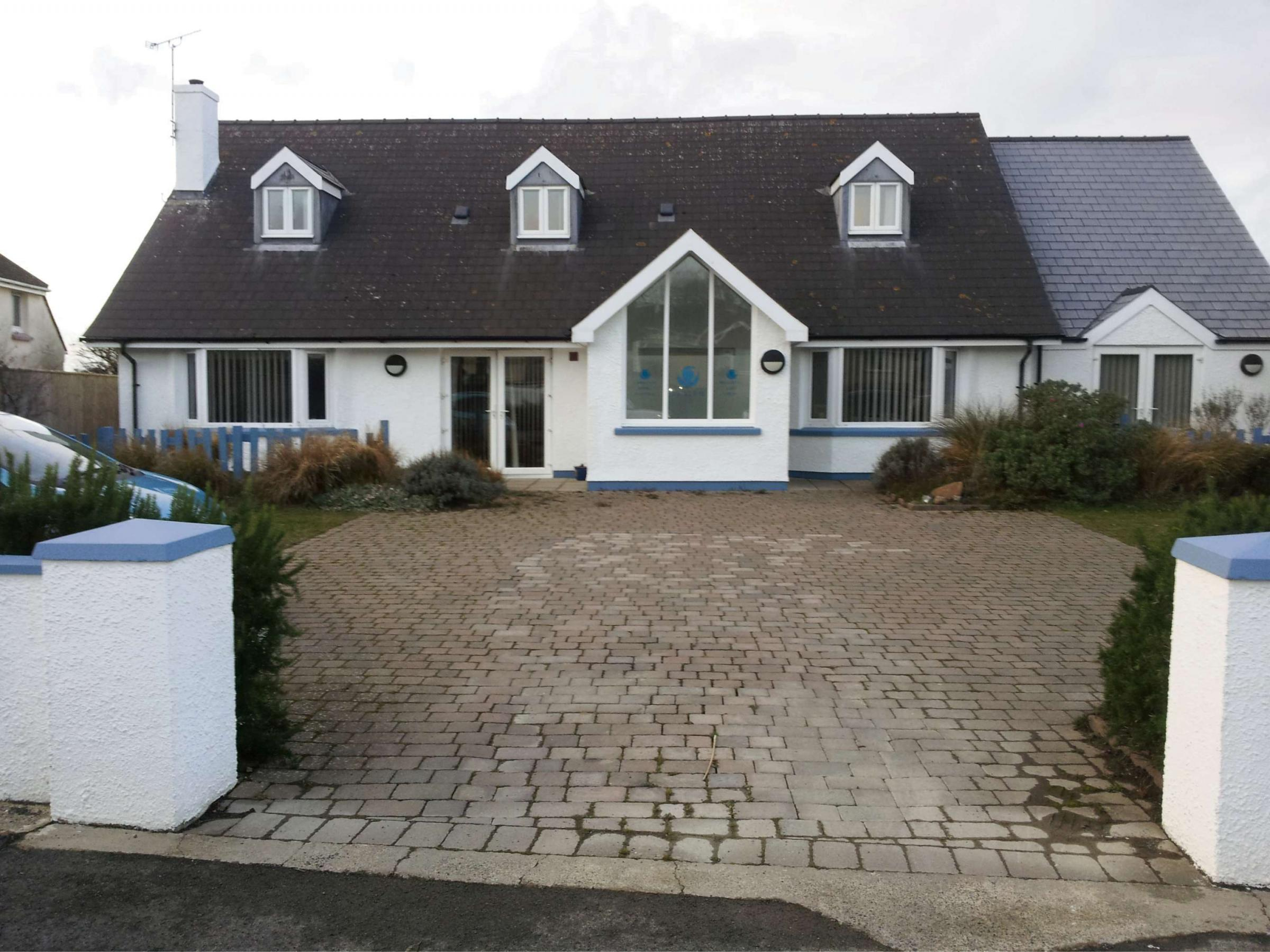 PALLIATIVE CARE CENTRE: Shalom House in St Davids PICTURE: Western Telegraph